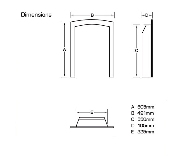 Technical drawing QS-V39772 / FDRN45G