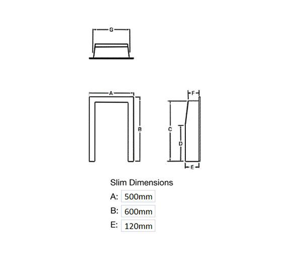 Technical drawing QS-V39797 / 55115