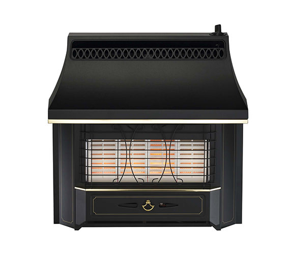 Valor Black Beauty Radiant Slide Control Outset Gas Fire - 0534811