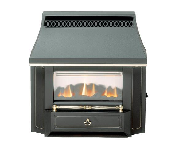 Valor Black Beauty Slimline LFE Outset Gas Fire Black - 0534101