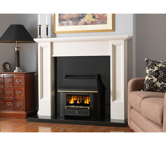 Valor Black Beauty Slimline Outset Gas Fire Black - 0534101