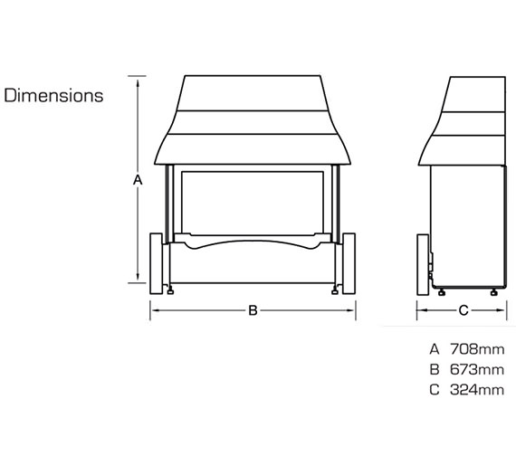 Technical drawing QS-V39802 / FEMC00RN