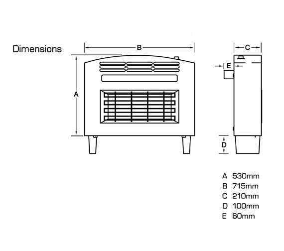 Technical drawing QS-V39812 / FORSB0EN