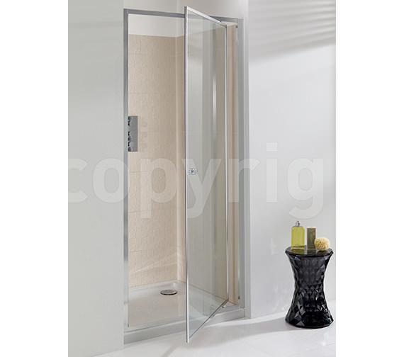 Simpsons Edge Pivot Shower Door 800mm - EPDSC0800
