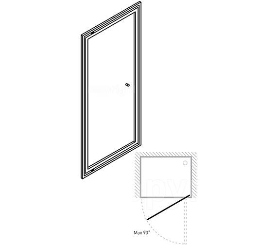 Technical drawing QS-V39263 / EPDSC0800