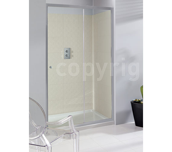 Simpsons Edge Framed Single Shower Slider 1100mm - ESLSC1100