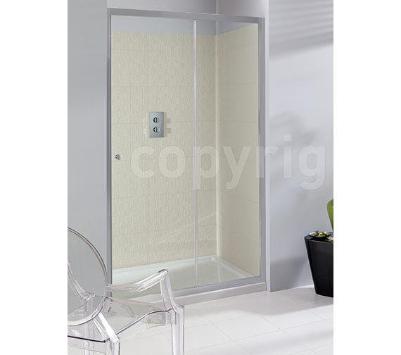 Simpsons Edge Framed Single Shower Slider 1400mm - ESLSC1400