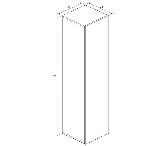 Technical drawing QS-V980030 / EL3514FST