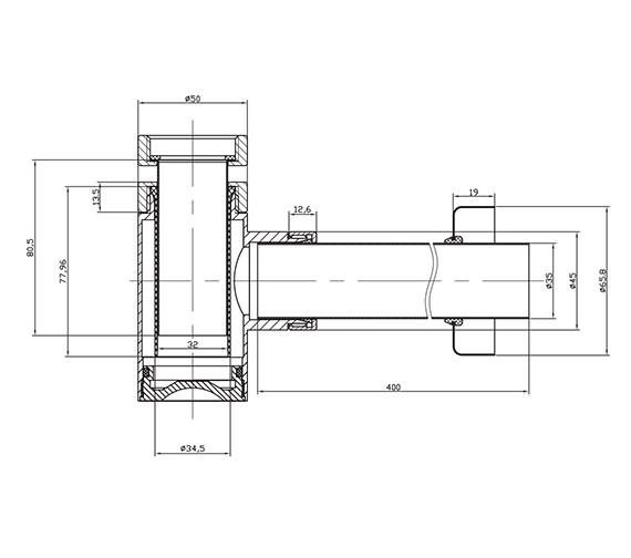 Technical drawing QS-V39974 / BTR0401C