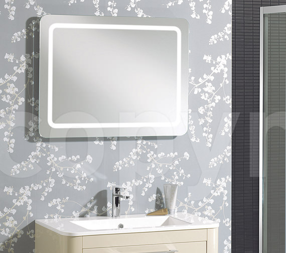 Bauhaus Celeste Back Lit Mirror 600 X 800MM With Demister Pad