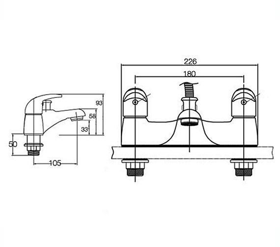 Technical drawing QS-V4001 / BEO-1877