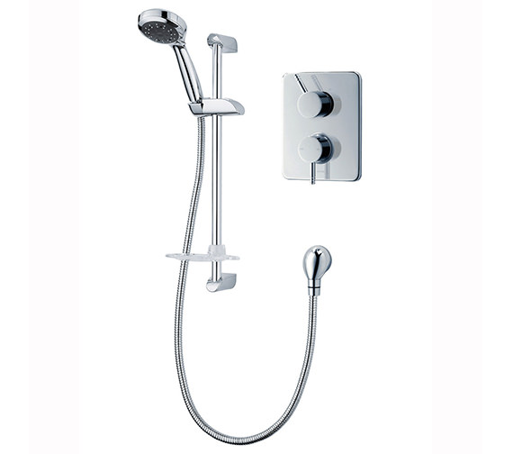 Triton Unichrome Thames Dual Control Mixer Shower