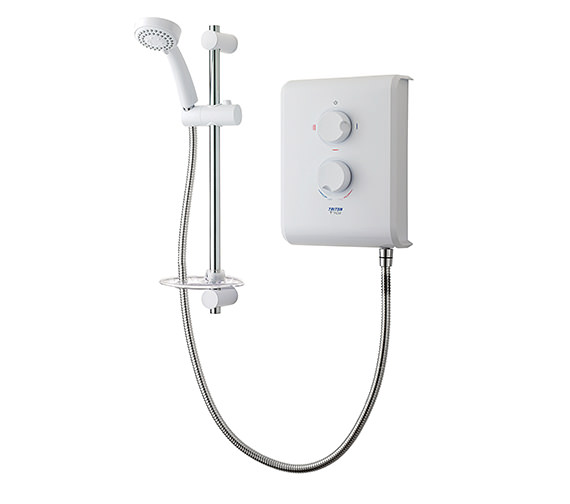 Triton T70Z Electric Shower 7.5kw White And Chrome