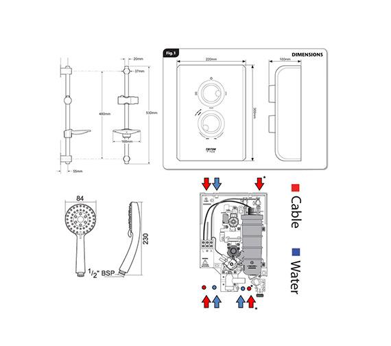 Technical drawing QS-V40044 / SP7007Z