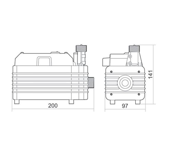 Technical drawing QS-V40062 / T450I00M
