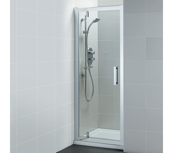 Ideal Standard Synergy Pivot Alcove Shower Door 1000mm - L6204EO