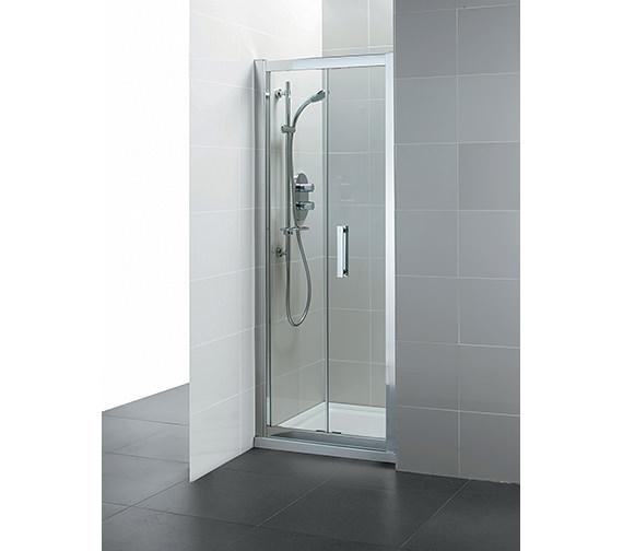 Ideal Standard Synergy Infold Shower Door 1000mm - L6209EO