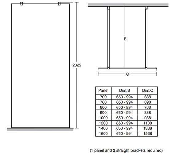 Technical drawing QS-V40164 / L6224EO