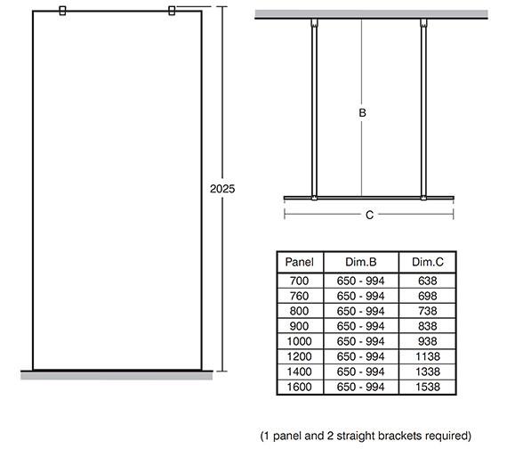 Technical drawing QS-V40167 / L6227EO