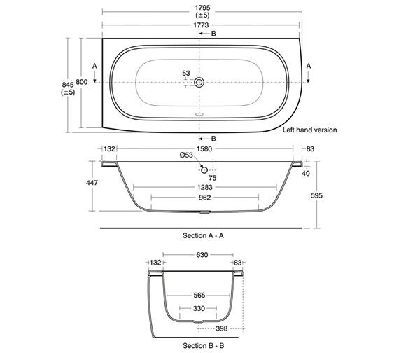 Technical drawing QS-V40171 / E635001