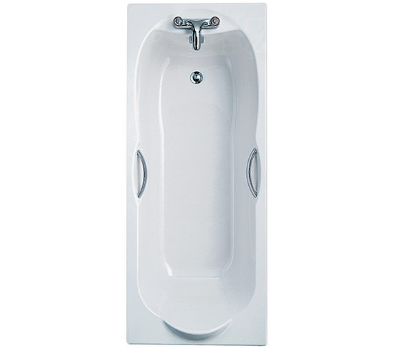 Ideal Standard Alto Rectangular 1700 x 700mm Bath With Handgrips