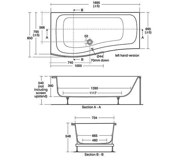 Technical drawing QS-V40179 / E317101