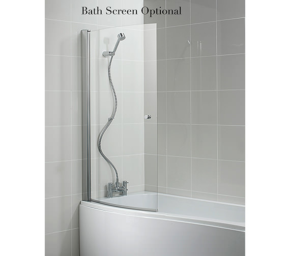 Additional image of Ideal Standard Create Idealcast Shower Bath 1700mm - E317101