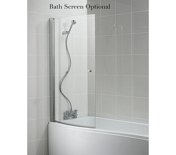 Additional image of Ideal Standard Create Idealcast Shower Bath 1700mm - E317101