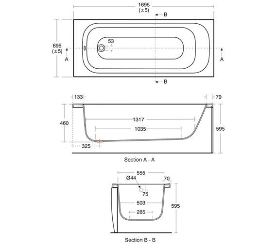 Technical drawing QS-V40188 / E636501
