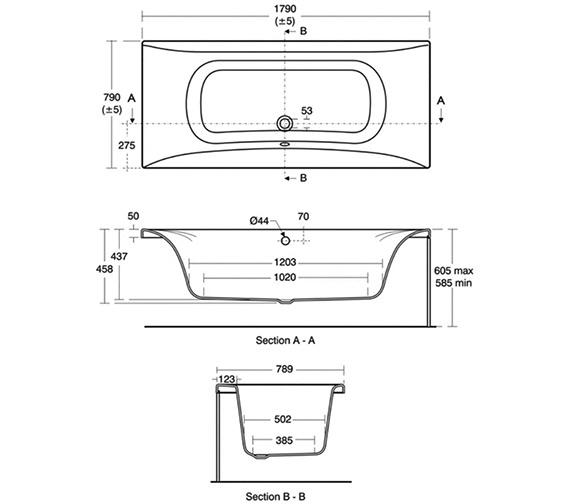 Technical drawing QS-V40190 / E480601