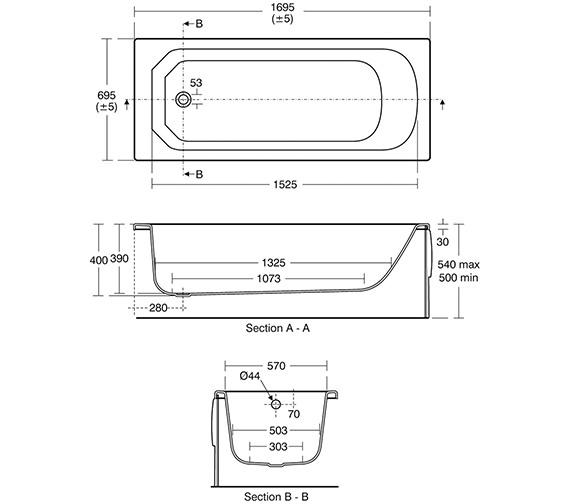 Technical drawing QS-V40200 / E147801