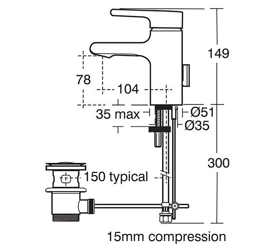 Technical drawing QS-V40233 / A4592AA