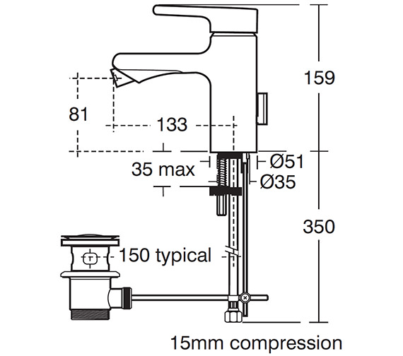 Technical drawing QS-V40234 / A4617AA