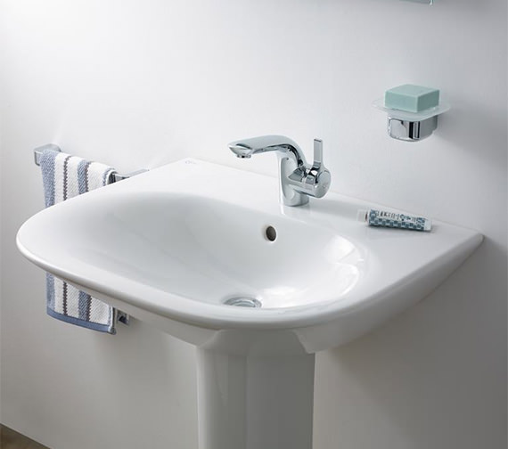 Additional image of Ideal Standard Melange Single Lever Basin Mixer Tap With Pop-Up Waste