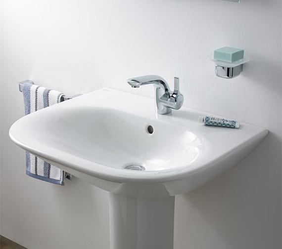 Additional image of Ideal Standard Melange Single Lever Basin Mixer Tap With Pop-Up Waste