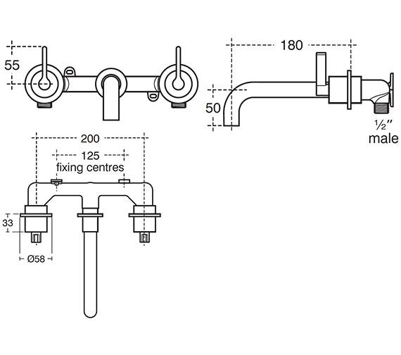 Technical drawing QS-V40291 / E0071AA