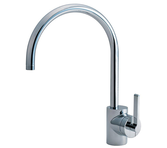 Armitage Shanks Silver Single Lever Sink Mixer Tap - E0083AA