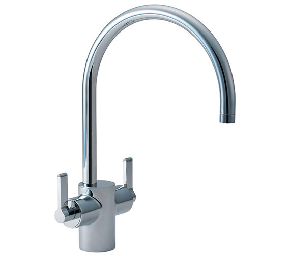 Ideal Standard Silver Dual Control Sink Mixer Tap - E0084AA