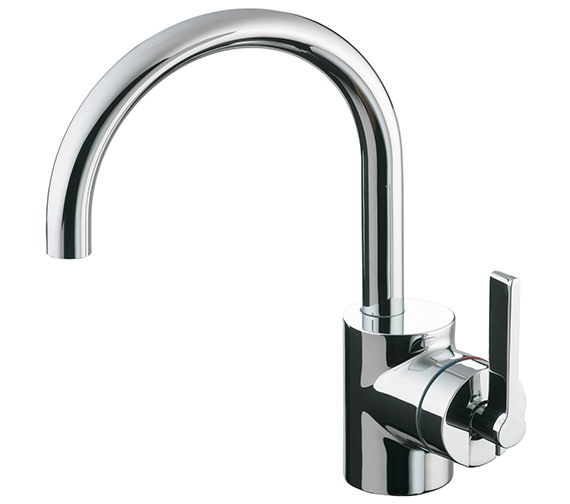 Ideal Standard Silver Single Lever Basin Mixer Tap Without Waste