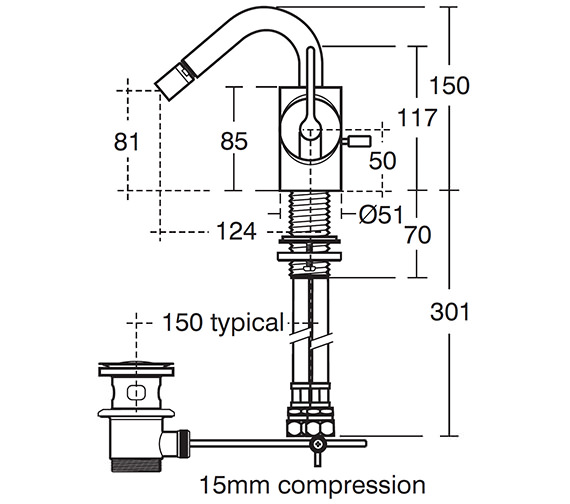 Technical drawing QS-V40296 / E0074AA