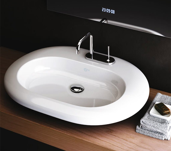 Additional image of Ideal Standard Simply U Single Lever Basin Mixer Tap - A4485AA