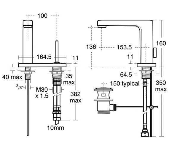 Technical drawing QS-V40302 / A4479AA