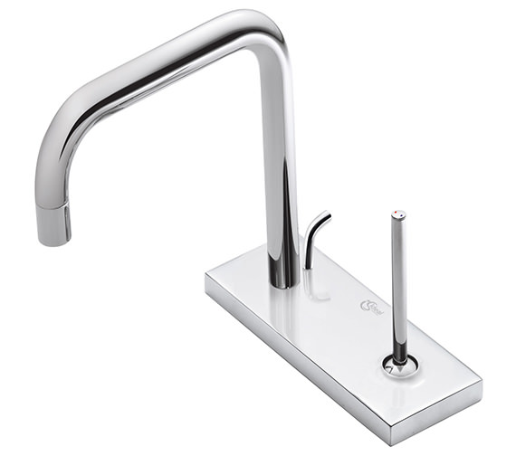 Ideal Standard SimplyU 2 Hole Cylindrical Spout Basin Mixer Tap