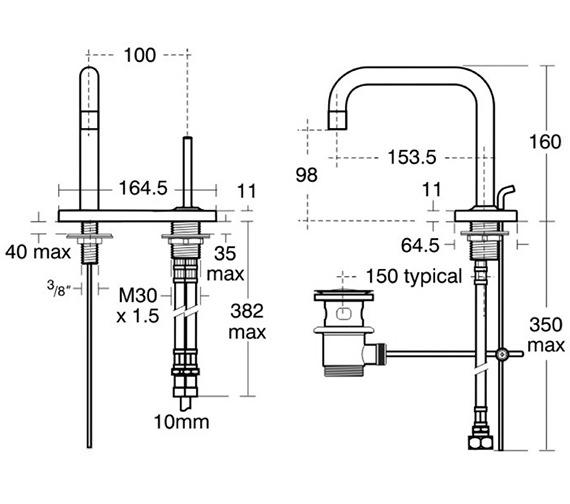 Technical drawing QS-V40303 / A4486AA