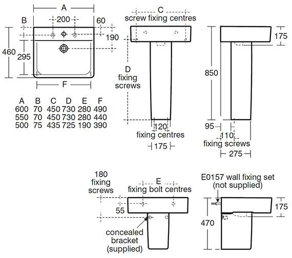 Technical drawing QS-V40355 / E794301