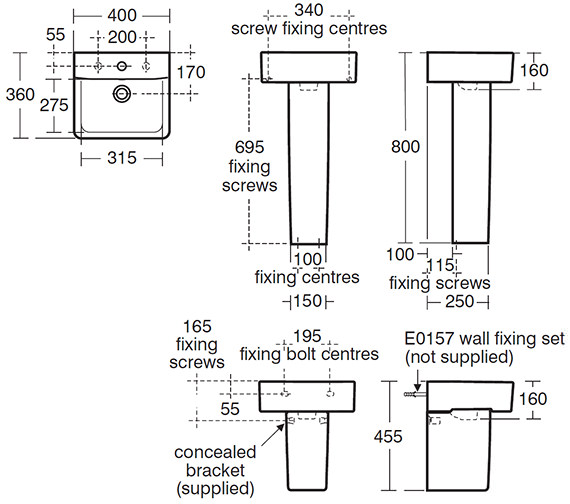Technical drawing QS-V40358 / E803101