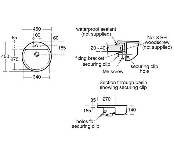 Technical drawing QS-V40365 / E797901