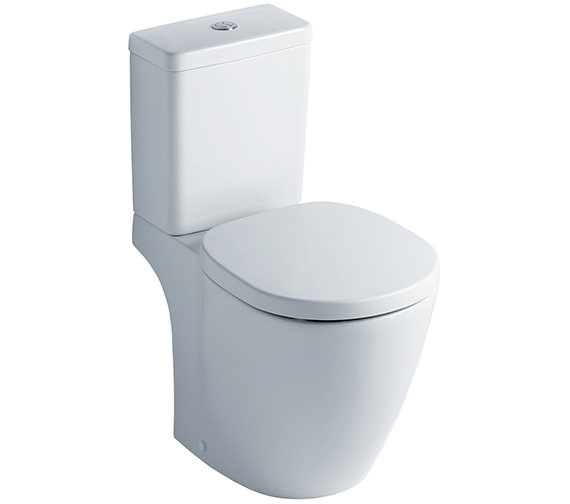 Ideal Standard Concept Cube Close Coupled WC Pan And Cistern 665mm