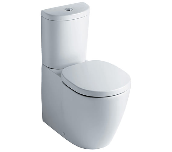 Ideal Standard Concept Close Coupled Back-To-Wall WC Pan 665mm