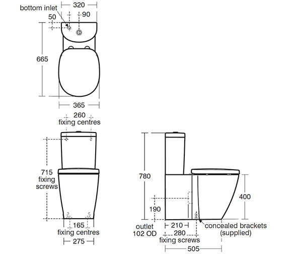 Technical drawing QS-V40370 / E794101